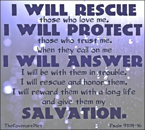 psalm 91.14-16 verse
